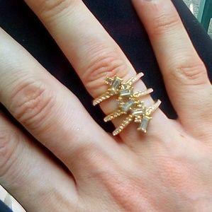 Covet Brass*Premium 14K Gold Plated Ring